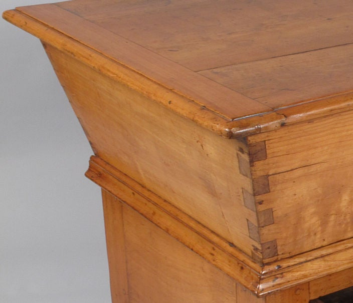 French Period Louis Philippe Petrin Dough Table 8