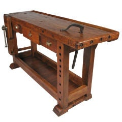 French Country Style Carpenter's Workbench