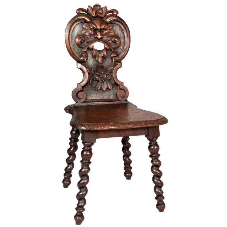 French Renaissance Style Chair At 1stdibs