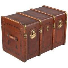 French Traveling Trunk from Provence, Early 1900s