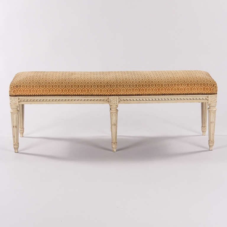 french louis xvi style bench banquette at 1stdibs. Black Bedroom Furniture Sets. Home Design Ideas