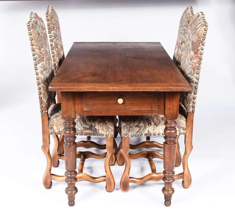 Louis philippe dining table at 1stdibs for Table ronde louis philippe