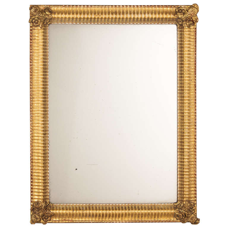French Empire Period Gilded Mirror Early 1800s At 1stdibs