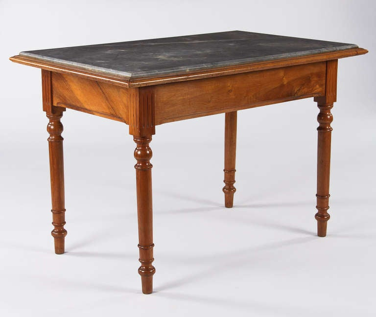 Louis philippe style confectioner 39 s table at 1stdibs for Table louis philippe