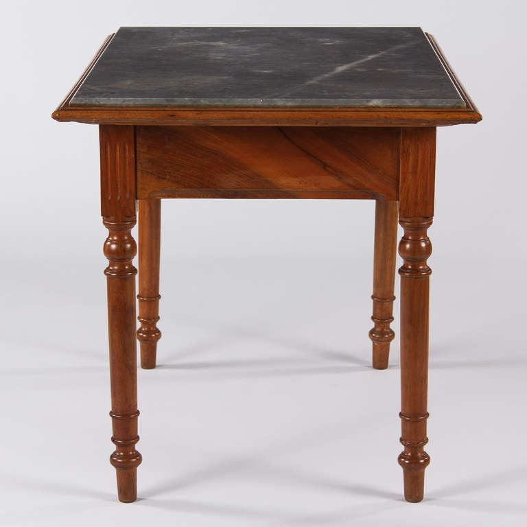 Louis philippe style confectioner 39 s table at 1stdibs for Table 6 pieds louis philippe