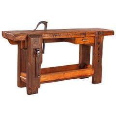 French Carpenter's Workbench