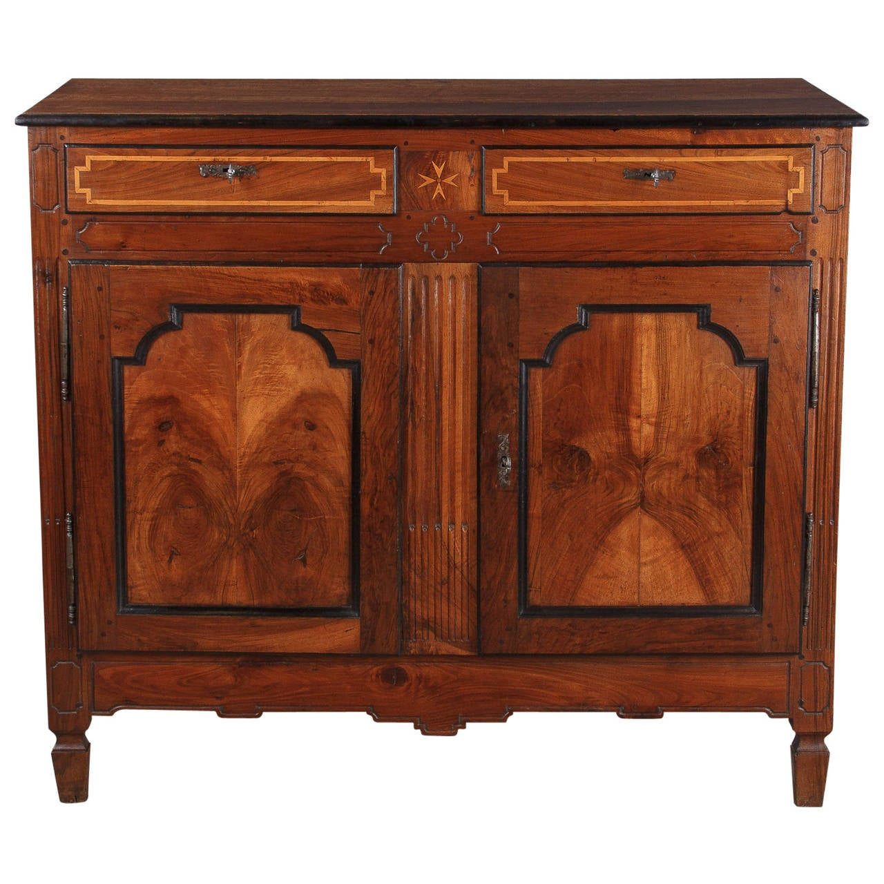 napoleon iii walnut buffet from france 1870s. Black Bedroom Furniture Sets. Home Design Ideas