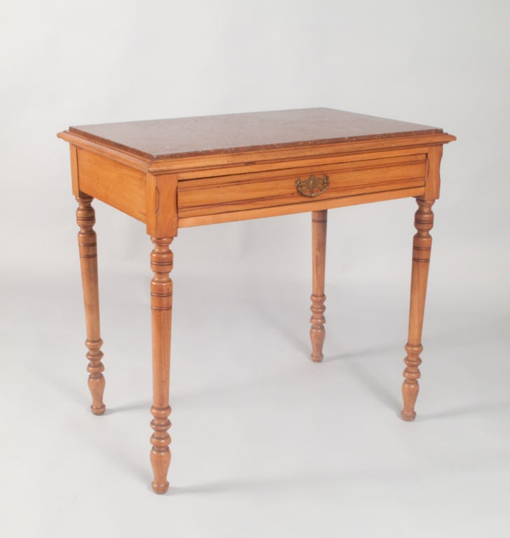 Louis philippe style side table at 1stdibs for Table ronde louis philippe