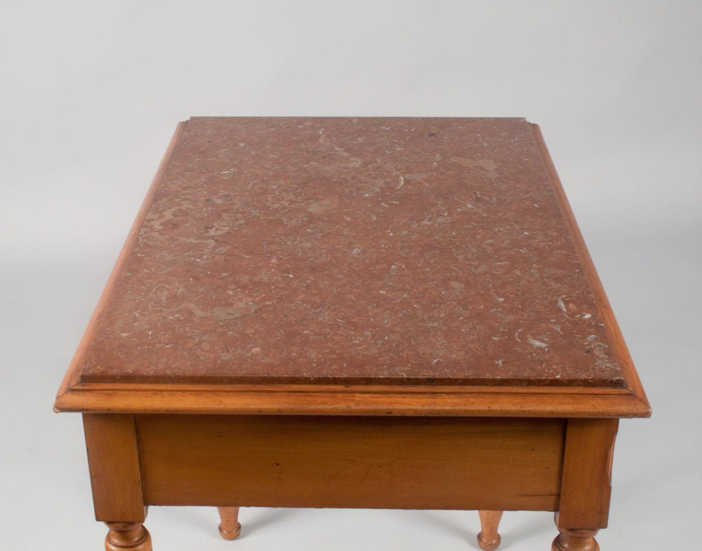 Louis philippe style side table at 1stdibs for Table 6 pieds louis philippe