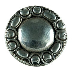 Jugendstil Silver Brooch Pin Fine Estate Jewelry
