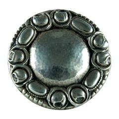 Jugendstil Silver Brooch Pin