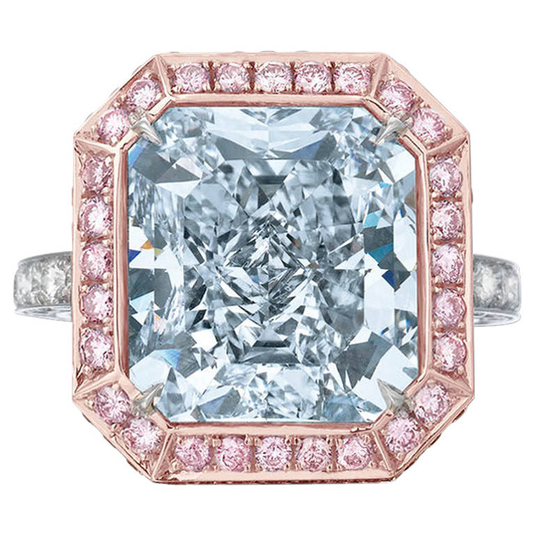 the royal blue diamond 10 06 carats at 1stdibs
