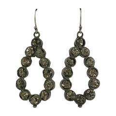 Victorian Pyrite Earrings
