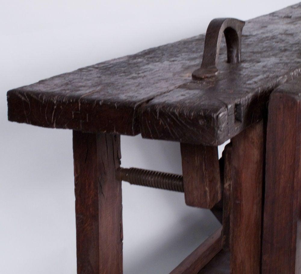 french etabli carpenter 39 s workbench at 1stdibs. Black Bedroom Furniture Sets. Home Design Ideas