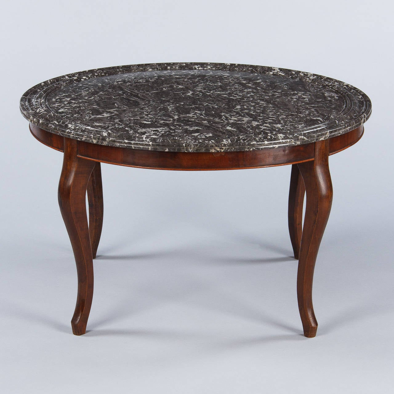 Louis Philippe Style Marble Top Coffee Table 1900s For Sale At 1stdibs