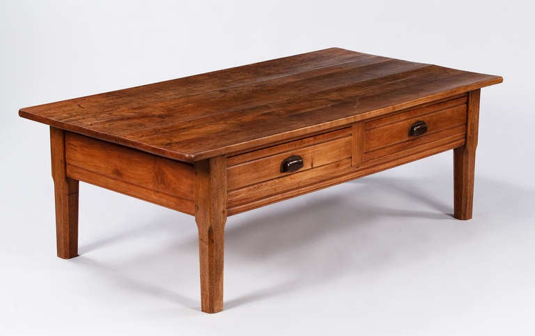 French Country Farm Coffee Table at 1stdibs