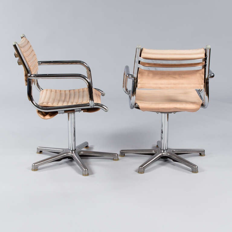 Set Of Six Vintage Chrome Armchairs By Olymp Germany For