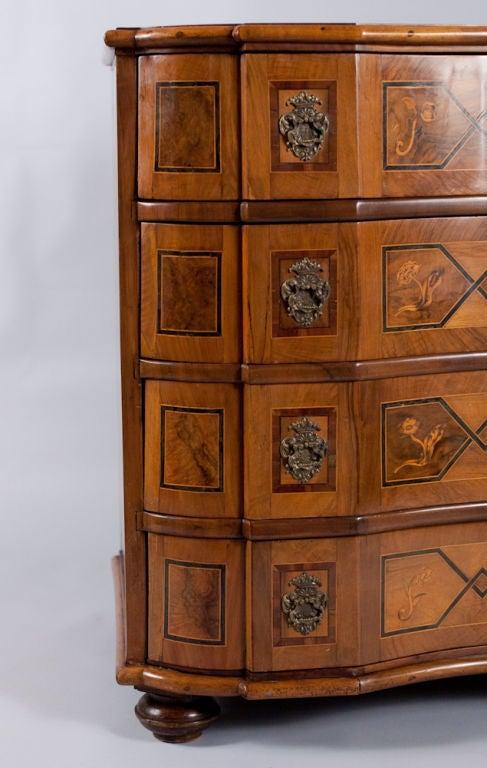 german baroque style commode at 1stdibs. Black Bedroom Furniture Sets. Home Design Ideas