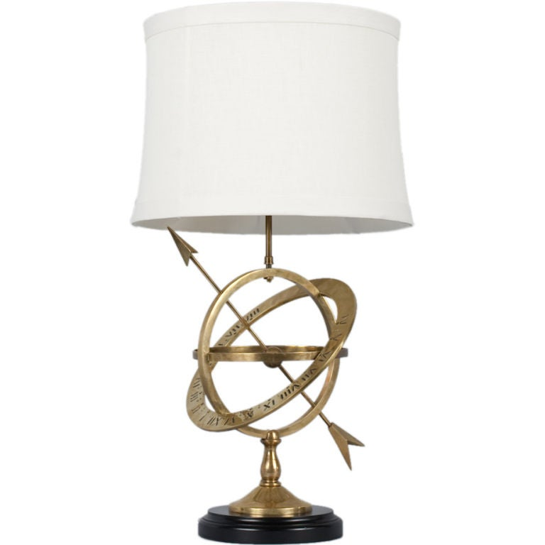 Armillary Sphere Table Lamp at 1stdibs