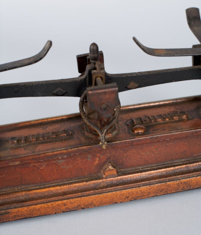 French Apothecary Metal Scale 1