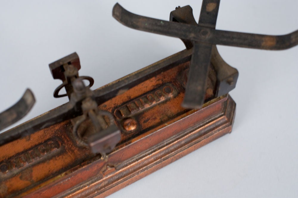 French Apothecary Metal Scale 3