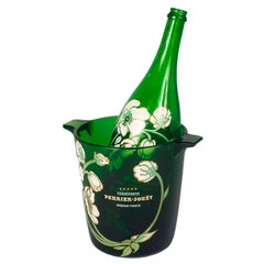 Vintage Perrier-Jouet Champagne Bottle and Bucket
