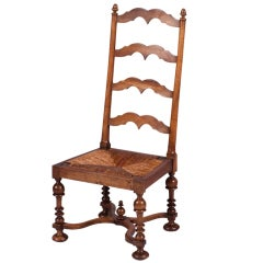 Country French Chauffeuse Chair