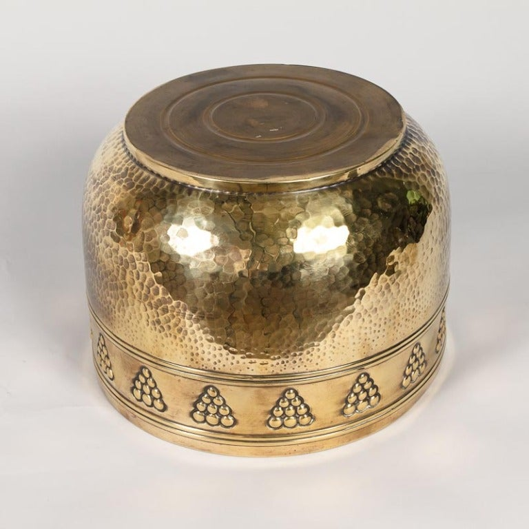 French Brass Cache Pot, 20th Century For Sale 3