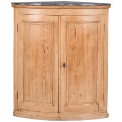 Country French Corner Cabinet