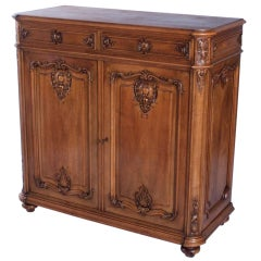 French Louis XIV Style Parisian Buffet d'Appui