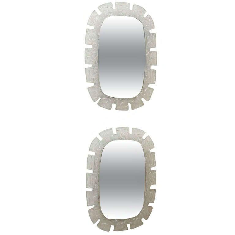 Italian Perspex Illuminated Mirror