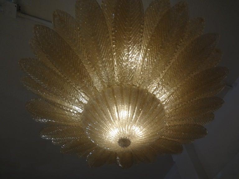 Stunning Barovier Murano Glass Chandelier 2