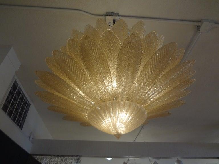 Stunning Barovier Murano Glass Chandelier 4