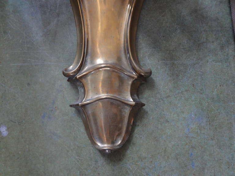 Monumental French Louis XVI Style Bronze Sconces Maison Baguès Attributed For Sale 2