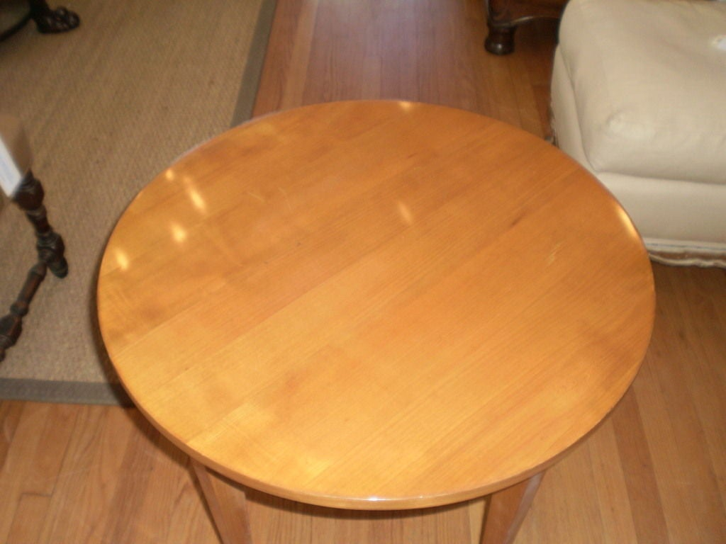Stylish french s lemon wood gueridon saturday sale at