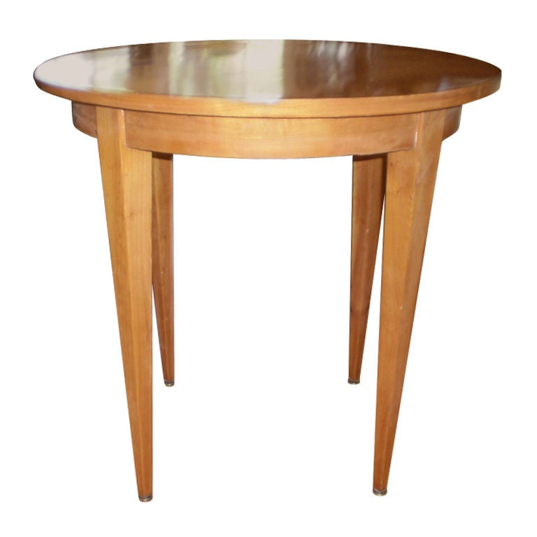 Lemon Wood Furniture ~ Stylish french s lemon wood gueridon for sale at stdibs