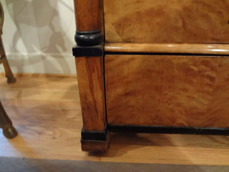 Early 19th Century Austrian Biedermeier Commode or Chest For Sale 2