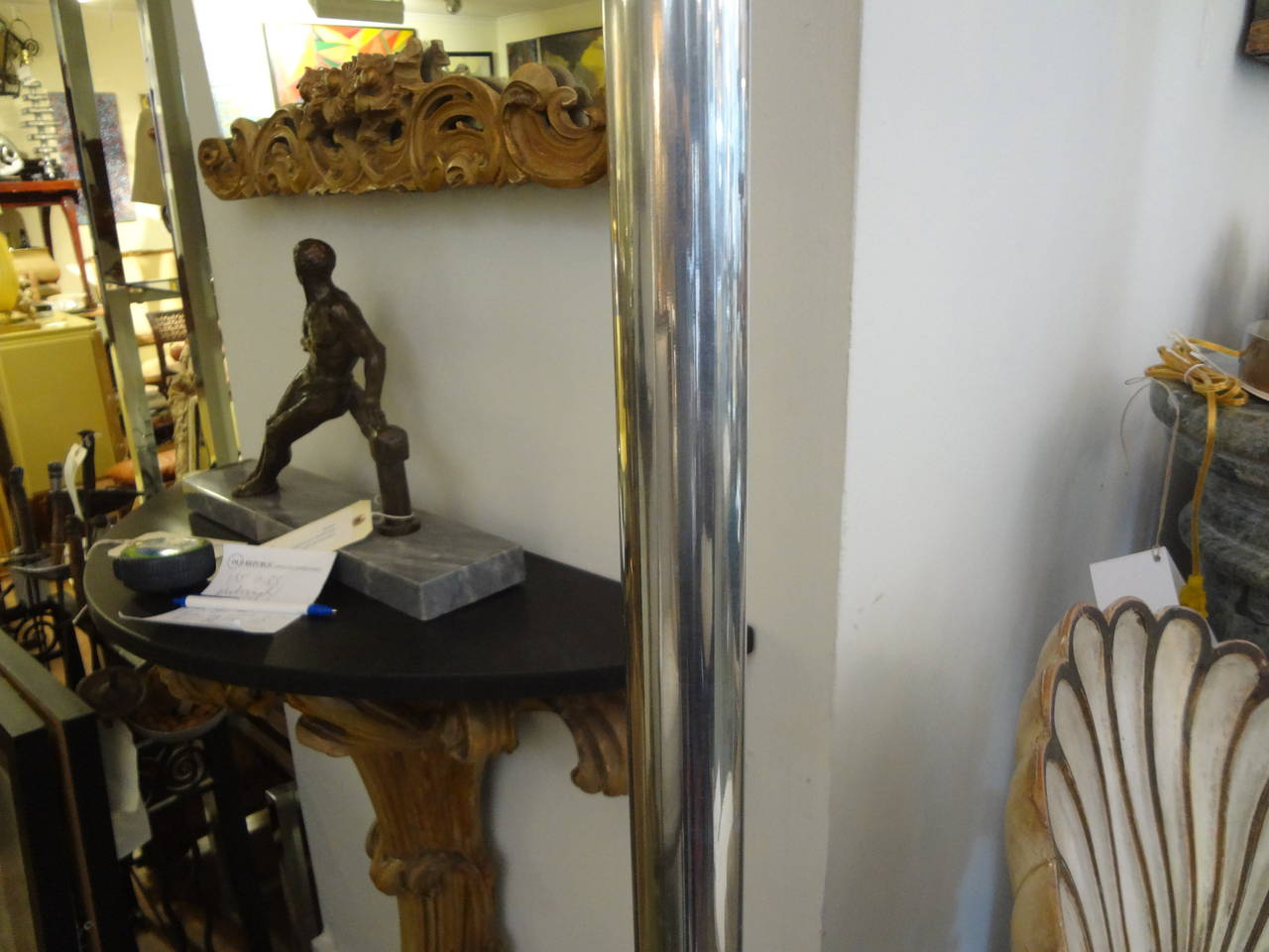 Mid-20th Century Italian Postmodern or Mid-Century Modern Torchère Floor Lamp, Made in Milan For Sale
