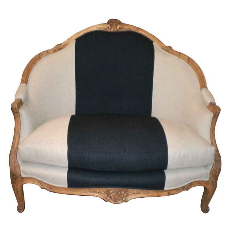 19th century french louis xv style marquise canape at 1stdibs for Canape style louis xv