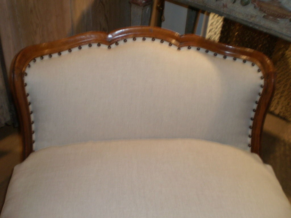 19th century french louis xv or louis xvi style fruitwood for Chaise style louis xvi occasion