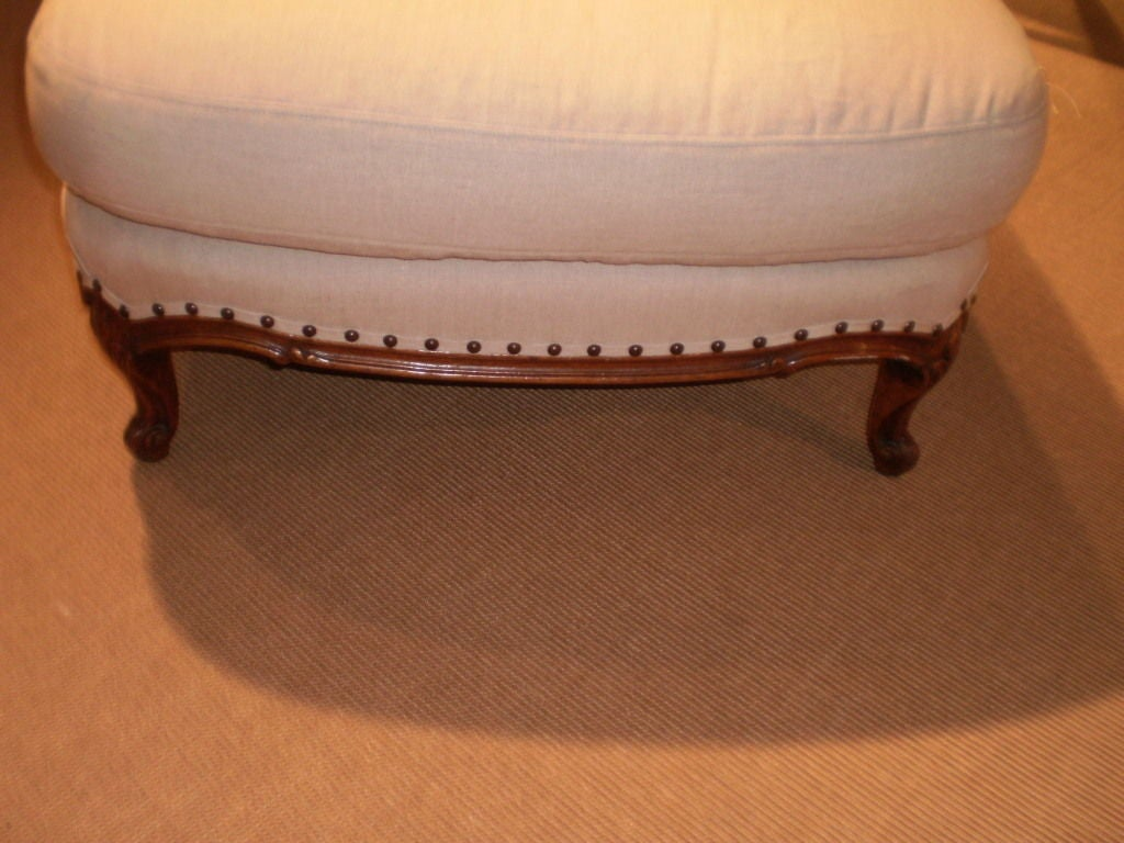 19th century louis xv or louis xvi style fruitwood chaise longue at 1stdibs