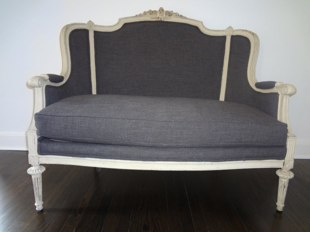 19th century louis xvi style canape at 1stdibs