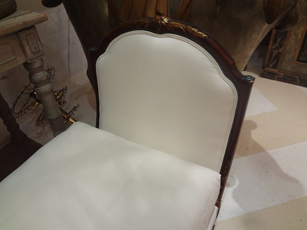 19th Century French Louis XVI Style Chaise Longue For Sale 1