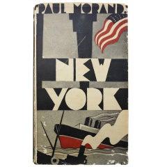 "Rare Paul Morand Book, ""New York,"" 1930"