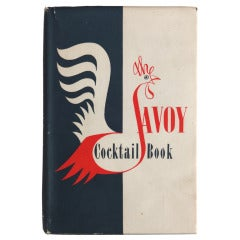 "Scarce ""The Savoy Cocktail Book"", England, 1952"
