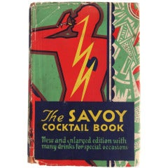 "Ultra Rare ""the Savoy Cocktail Book,"" England, 1933"