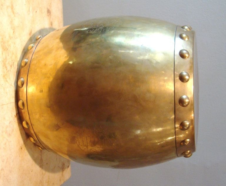 1950 S Brass Chinese Drum Stool At 1stdibs