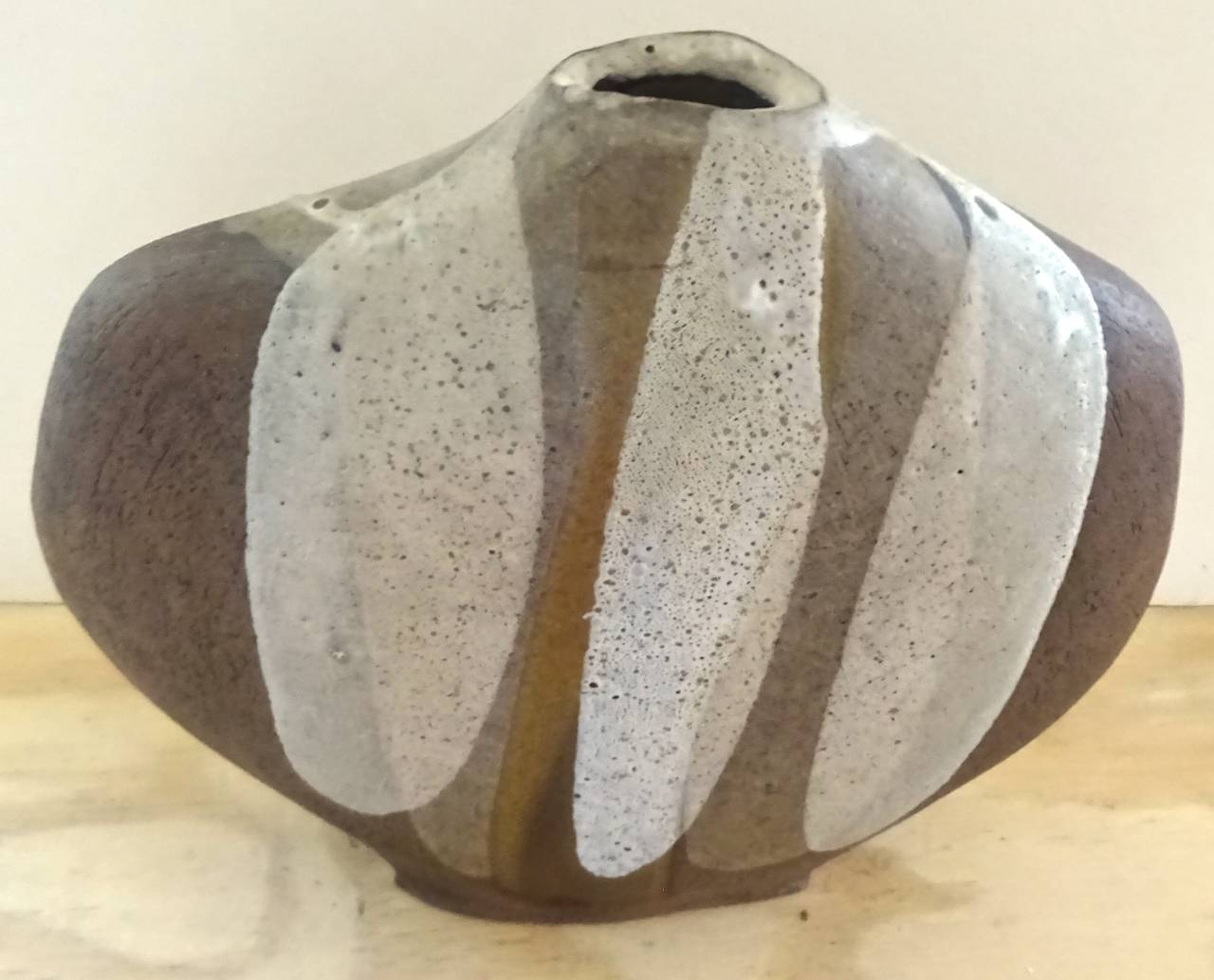 Rare 1950s david cressey studio slab built flame glaze art american rare 1950s david cressey studio slab built flame glaze art pottery vase for sale reviewsmspy