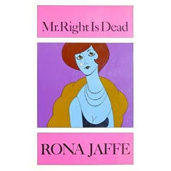 """Mr. Right Is Dead,"" Book by Rona Jaffe, 1965"