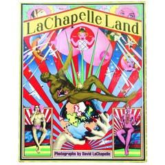 """Rare """"Lachapelle Land: Photographs David LaChapelle"""" Book, 1st Edition, 1996"""